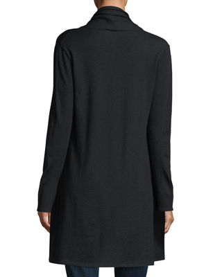 Image 2 of 2: Modern Superfine Cashmere Duster