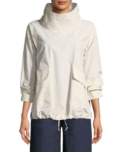 Eileen Fisher Organic Cotton/Nylon Pullover Jacket and Matching