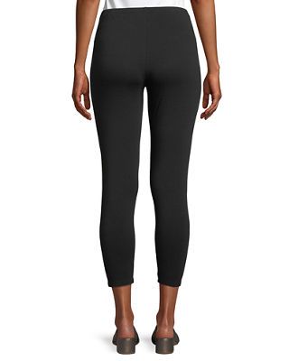 Image 2 of 3: Stretch Jersey Cropped Leggings, Petite