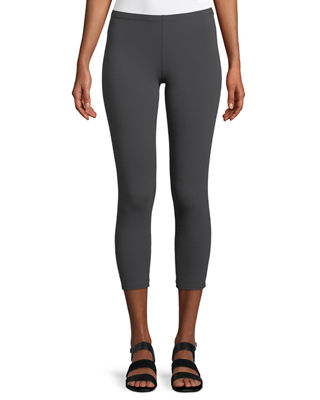 Eileen Fisher Stretch Jersey Cropped Leggings, Petite