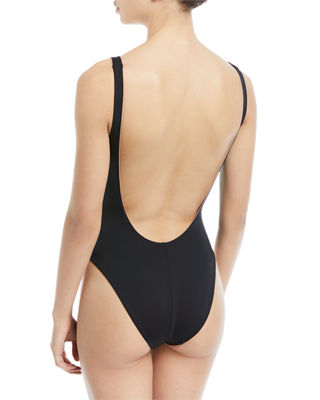Image 3 of 3: Lana Scoop-Neck Reversible One-Piece Swimsuit
