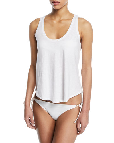 Scoop-Neck Relaxed Tank