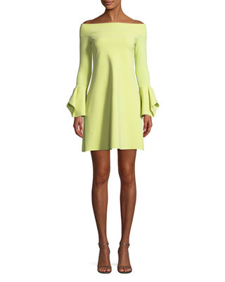 Chiara Boni La Petite Robe Berit Off-the-Shoulder Mini