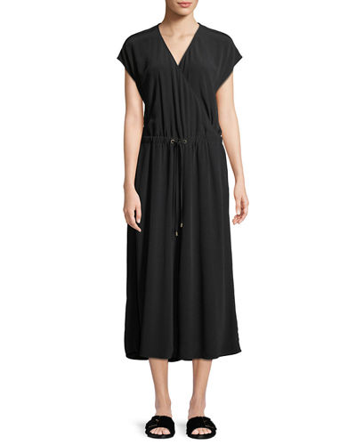 efe77c487367 Quick Look. Eileen Fisher · Crepe Cropped Jumpsuit