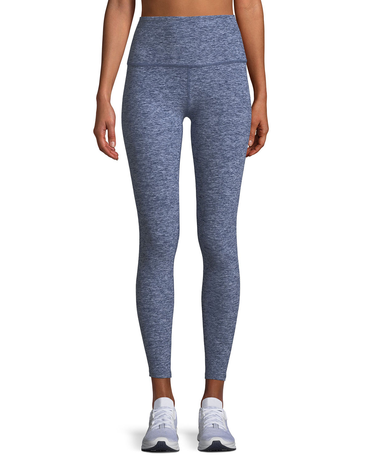 Caught in the Midi High-Waist Space-Dye Leggings