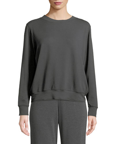 French Terry Relaxed Sweatshirt