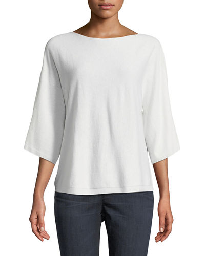 Eileen Fisher Seamless Italian Cashmere Top and Matching