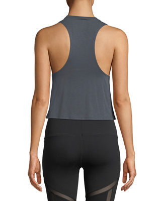 Image 2 of 2: Flow Graphic Racerback Lightweight Tank
