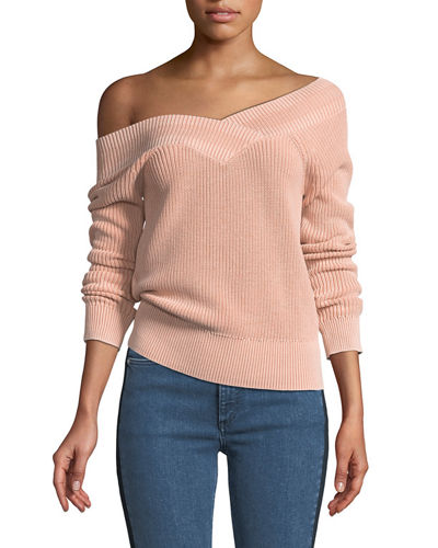 Dawn Off-the-Shoulder Knit Sweater