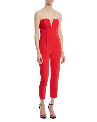 Cherri Strapless Cropped Jumpsuit