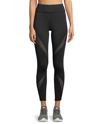Michi Inversion Mesh Panel Performance Leggings