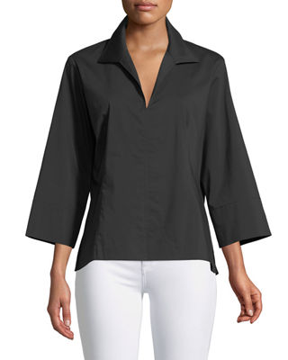 3/4-Sleeve Swing Shirt