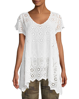 Johnny Was Pippa Eyelet Tunic and Matching Items
