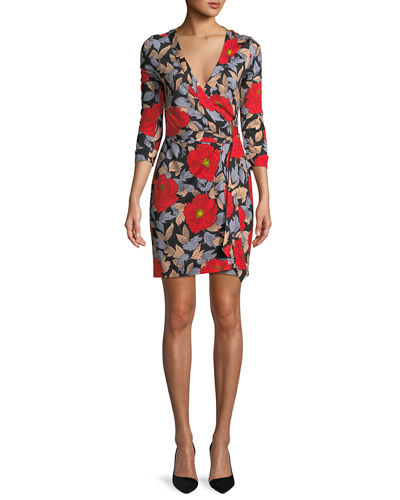 New Julian Mini Wrap Dress