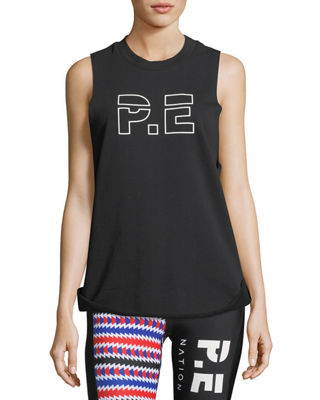 PE Nation Raserback Graphic Crewneck Performance Tank