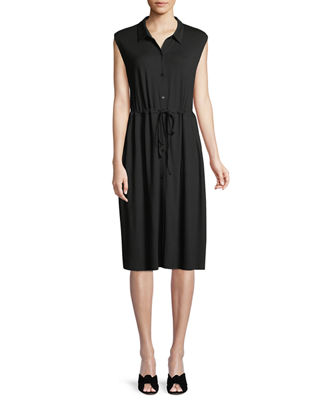 Eileen Fisher Sleeveless Lightweight Viscose Jersey