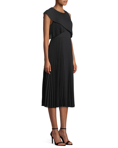 Maray Popover Sleeveless Midi Dress