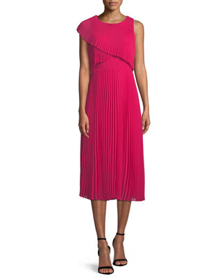 Club Monaco Maray Popover Sleeveless Midi Dress
