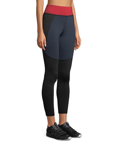 Tidal High-Rise Paneled Leggings