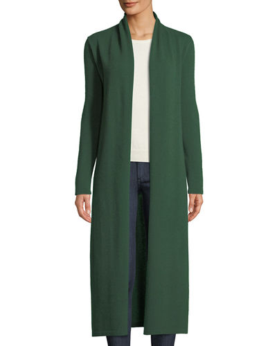 Long Cashmere Duster Cardigan