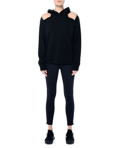 Wooster Hooded Cutout Sweatshirt