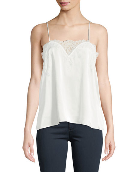 Cami NYC The Sweetheart Silk Charmeuse Camisole