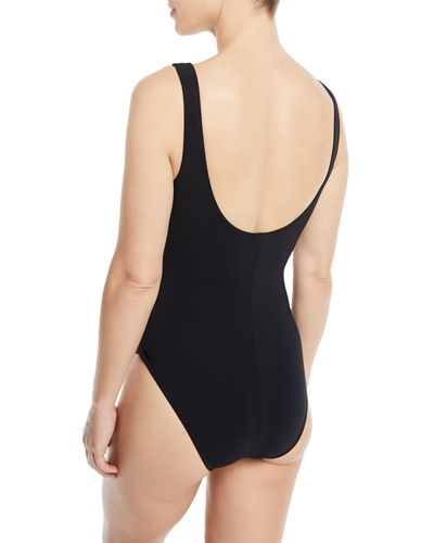 Zaha Ruched One-Piece Swimsuit