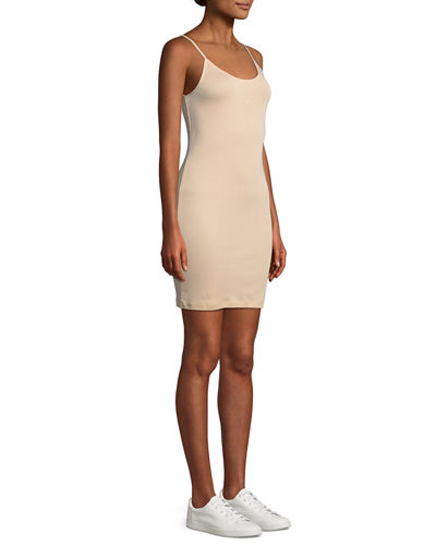 Christine Scoop-Neck Tank Dress