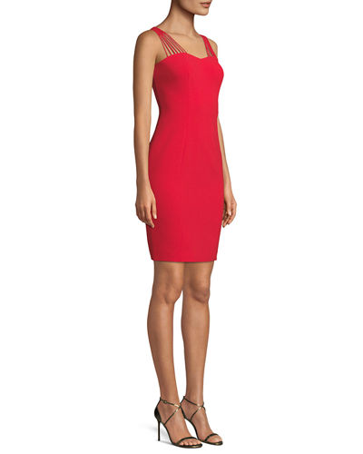 Owen Strappy-Sweetheart Cocktail Dress