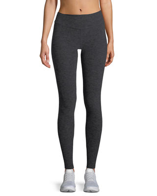 Cross It Back Space-Dye Midi Leggings
