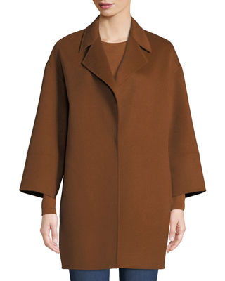 Neiman Marcus Cashmere Collection Luxury Double-Faced