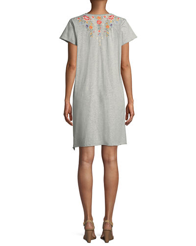 Hazleton Draped Tunic Dress