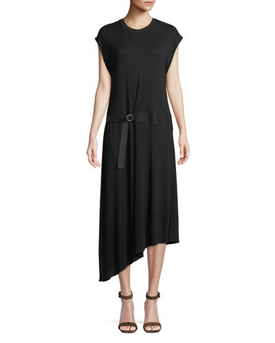 Ophelia Asymmetric Tee Dress