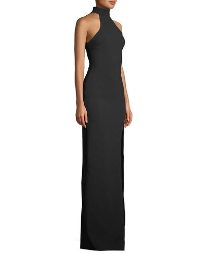 Jennings Halter Gown w/ Open Back
