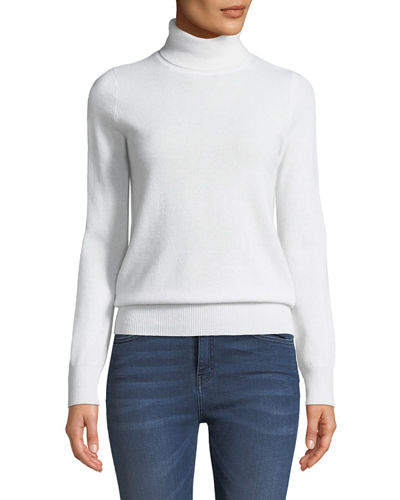 Quick Look. Neiman Marcus Cashmere Collection · Cashmere Turtleneck Sweater 7cc17f90e