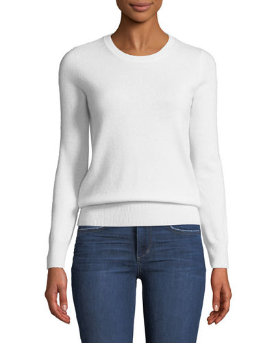 99d06fb90f Quick Look. Neiman Marcus Cashmere Collection · Cashmere Crewneck Sweater