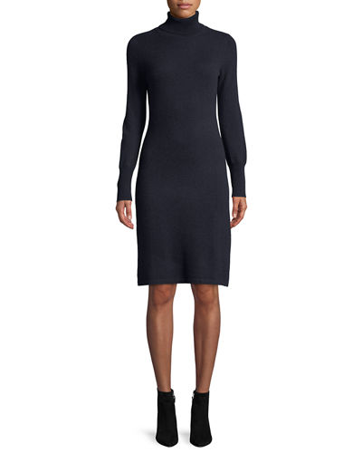 bca2caec110 Quick Look. Neiman Marcus Cashmere Collection · Cashmere Turtleneck Sweater  Dress
