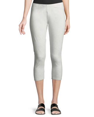 Joan Vass Jersey Ankle Leggings
