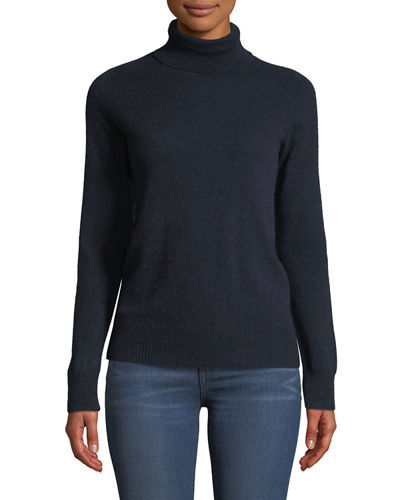 Cashmere Turtleneck Sweater, Plus Size