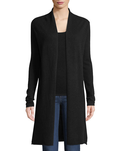 Plus Size Cashmere Duster Cardigan