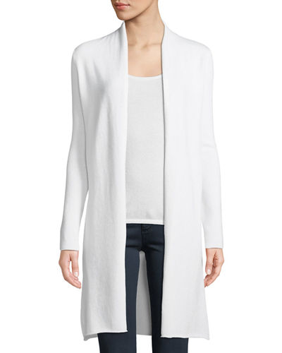 ad4bb9b919c Quick Look. Neiman Marcus Cashmere Collection · Plus Size Cashmere Duster  Cardigan