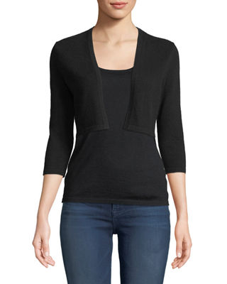 Neiman Marcus Cashmere Collection Cashmere Modern Shrug