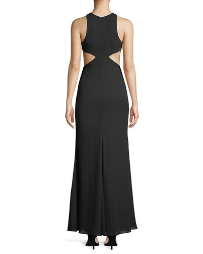The Midheaven Cutout Georgette Gown