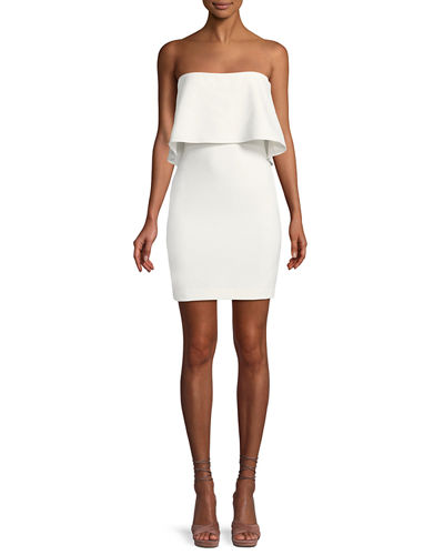 Driggs Strapless Popover Mini Dress