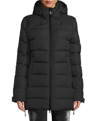 BOGNER Cathy Down-Filled Puffer Coat W/ Removable Hood in Black