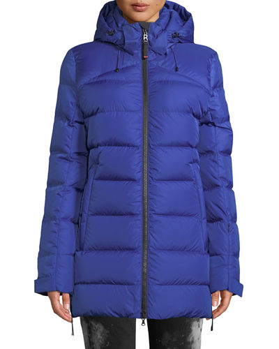 Cathy Down-Filled Puffer Coat w/ Removable Hood