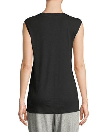 MicroTencel Sleeveless Tank Top