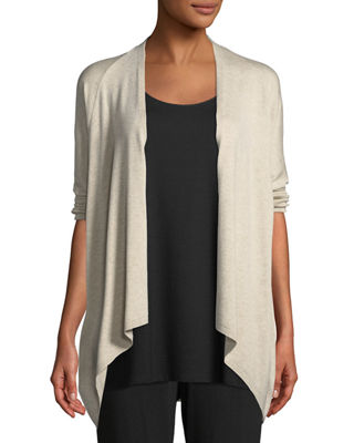 Eileen Fisher 3/4-Sleeve Lightweight Cozy Cardigan and Matching