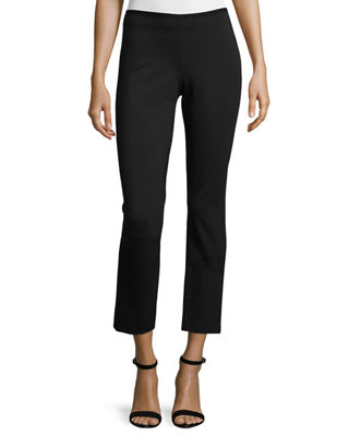 Image 1 of 3: Nova Double-Knit Slim Ankle Pants