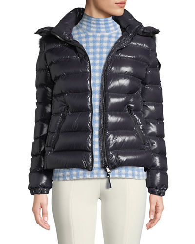 961be2e05 Moncler Navy Jacket | Neiman Marcus